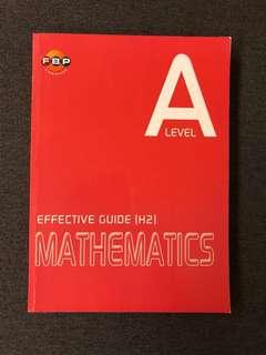 A level effective guide (H2) Math assessment book