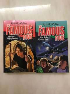 The Famous Five ( bundle of two)