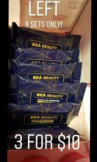 BEABEAUTY MAKE UP REMOVER