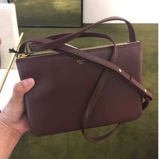 Celine trio bag in small size