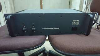 Commercial power amplifier