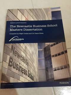 The Newcastle Business School Masters Dissertation