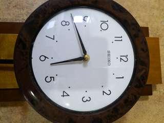 Vintage Clock Seiko
