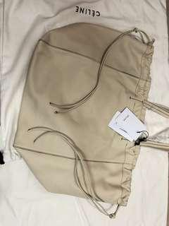 Celine 米白色皮袋 coulisse smooth calfskin 全新正貨