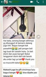 TESTIMONI THANKS DEAREST CUST😍🤗