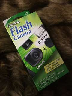 Quicksnap Fujifilm Disposable