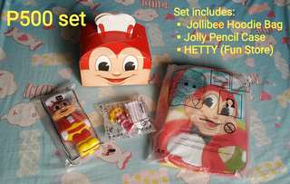 Assorted Jollibee Collectibles Set