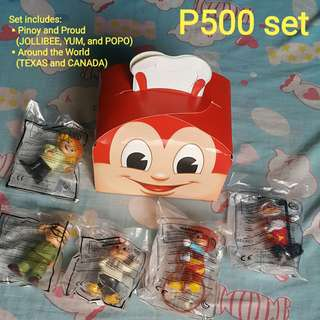 Assorted Jollibee Figures