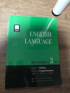 English 3NA editing book