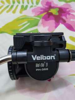 Video Tripod Head VelbonPH-368 Fluid Head From Amazon USA