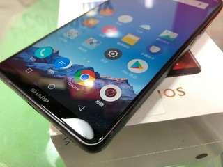 三禾電氣 Sharp 最新型號 S3 高配版 全面屏 全世界體績最小六寸mon手機 雙鏡雙咭
