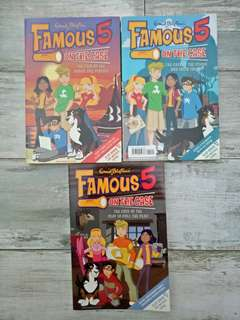 Famous 5: On The Case by Enid Blyton