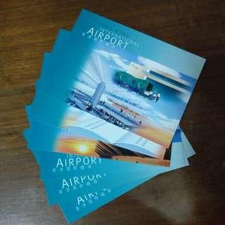 香港國際機場明信片(包郵到各地)