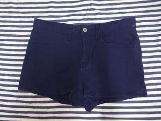 🚚 gu海軍藍短褲uniqlo #一百均價