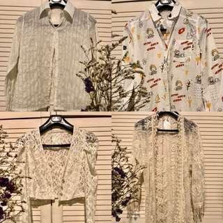 🚚 Vintage Women's Blouse/Throwover