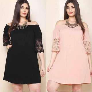 Chiffon Dress  Plus Size