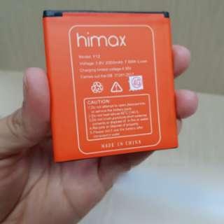 Baterai Himax Y12 Batre Himax M2 Y12 Himax M2 ORIGINAL