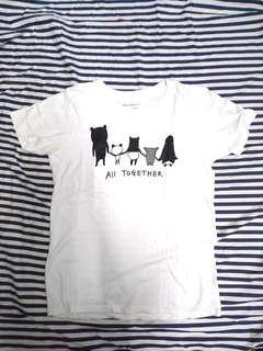 🚚 lativ 馬來貘短袖上衣#一百均價