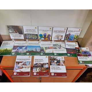 REX BOOK STORE - SENIOR HIGH SCHOOL BOOKS FOR GRADE 11 AND 12