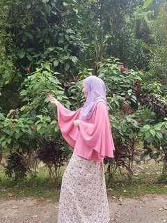 🔥FREE POST Batwing pink top