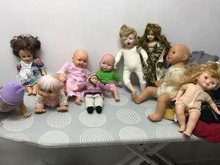 Clearance doll