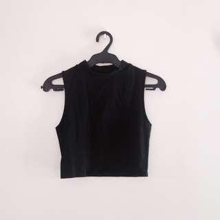 90s Minimalist Top (Black)
