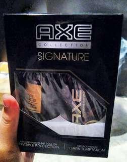Axe collection signature
