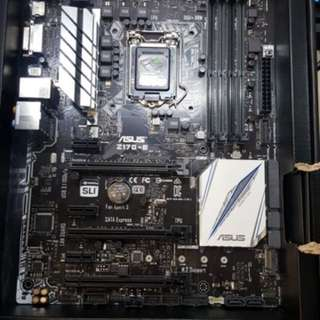 Asus Motherboard Z170-e DDR4 ATX socket 1151