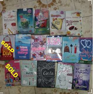 MALAY & ENGLISH NOVELS