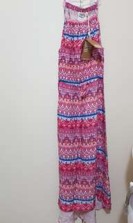 On Sale Pink Printed Woven Dress