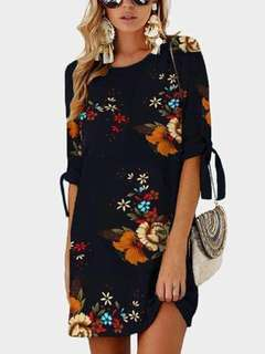 Rayon cotton dress