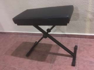 Keyboard Bench & Stand, and Microphone Stand