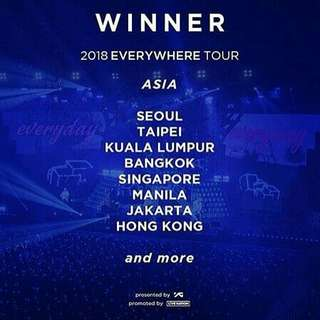 PRE ORDER WINNER OFFICIAL LIGHTSTICK