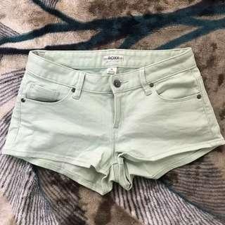 ROXY Mint-green Shorts (25)