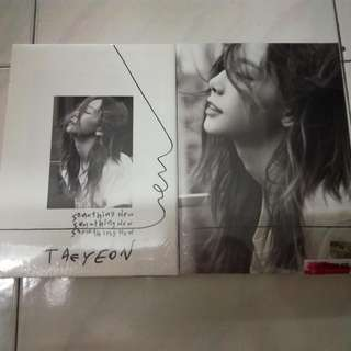 Ready Stock- Taeyeon Mini Album Something New