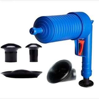 Air drain blaster
