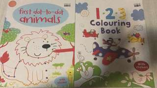 🚚 Instock while stock last!! Kids learning drawing and numbers book brand new