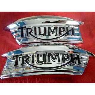 Emblem Motor Triumph