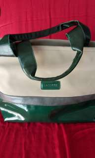 Original Lacoste Tote Bag Preloved💖💖💖