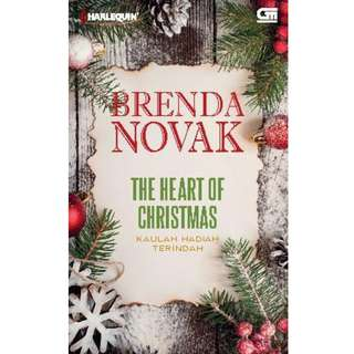 Ebook Kaulah Hadiah Terindah (The Heart of Christmas) - Brenda Novak