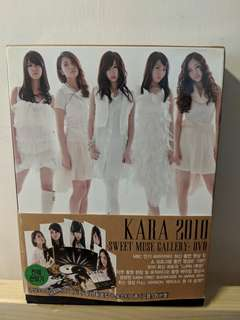 KARA Sweet Muse Gallery 2010 DVD set