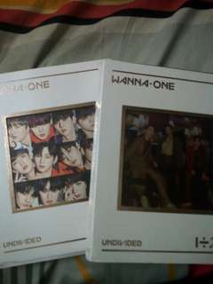 [ARRIVAL] WANNA ONE UNDIVIDED ALBUM AND POLAROID CONCERT
