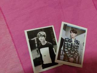 Jungkook and Taehyung photocard