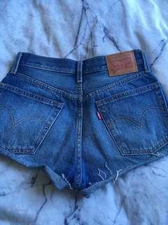 Genuine Levi's 501 shorts