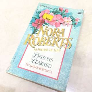 Nora Robert's Novel (Pelajaran Berharga)