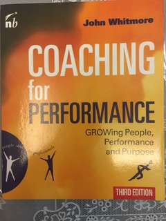 Coaching for Performance - Growing People, Performance & Purpose