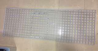 白色鐵網 6x2呎 共4塊