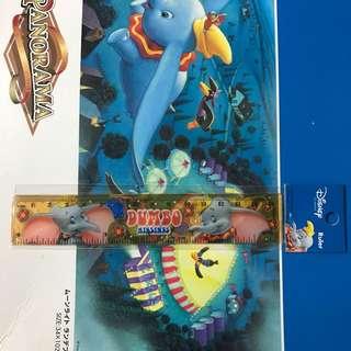 Disney DUMBO Ruler 小飛象間尺