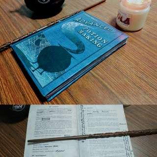 Harry Potter Advanced Potion Making Textbook (RARE)