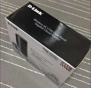 D-Link Wireless AC1750 Dual band Gigabit cloud router